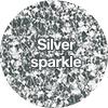 Silver-sparkle